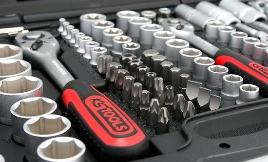 Industriesteckschlüsselsatz Koffer von KS Tools